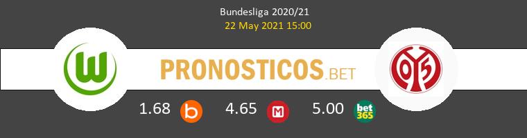 Wolfsburgo vs Mainz 05 Pronostico (22 May 2021) 1