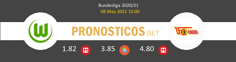 Wolfsburg vs Union Berlin Pronostico (8 May 2021) 1