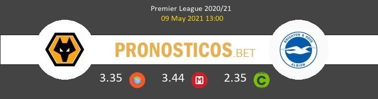 Wolves vs Brighton & Hove Albion Pronostico (9 May 2021) 1