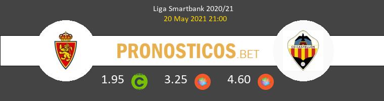 Zaragoza vs CD Castellón Pronostico (20 May 2021) 1