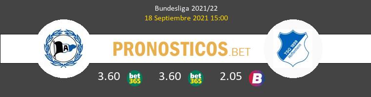 Arminia Bielefeld vs Hoffenheim Pronostico (18 Sep 2021) 1