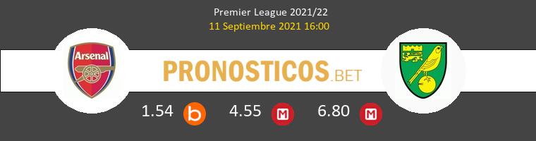 Arsenal vs Norwich City Pronostico (11 Sep 2021) 1