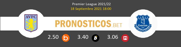 Aston Villa vs Everton Pronostico (18 Sep 2021) 1