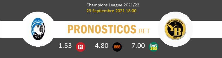 Atalanta vs Young Boys Pronostico (29 Sep 2021) 1