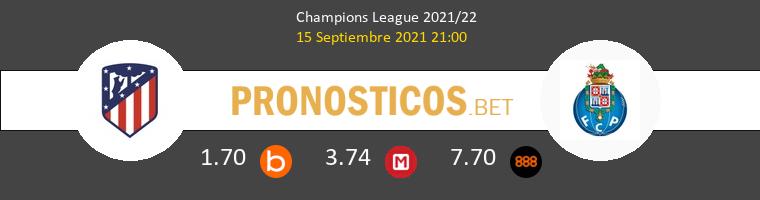 Atlético vs Porto Pronostico (15 Sep 2021) 1