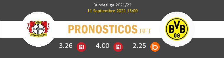 Bayer Leverkusen vs Dortmund Pronostico (11 Sep 2021) 1