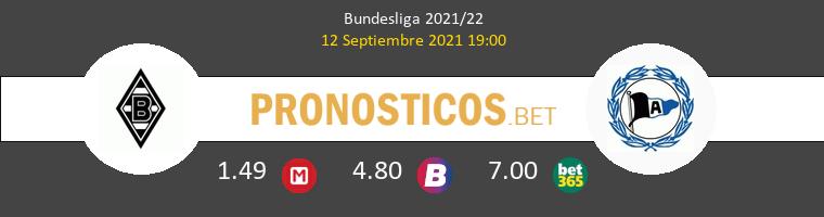 B. Mönchengladbach vs Arminia Bielefeld Pronostico (12 Sep 2021) 1