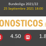 B. Mönchengladbach vs Borussia Pronostico (25 Sep 2021) 4