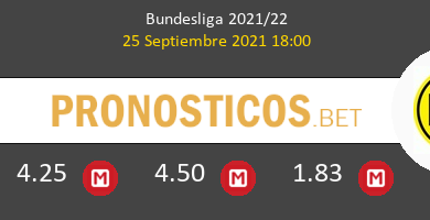 B. Mönchengladbach vs Borussia Pronostico (25 Sep 2021) 3