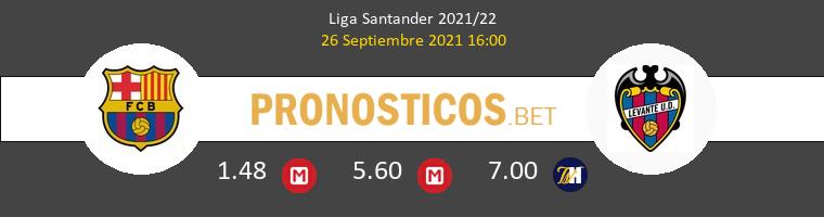 Barcelona vs Levante Pronostico (26 Sep 2021) 1