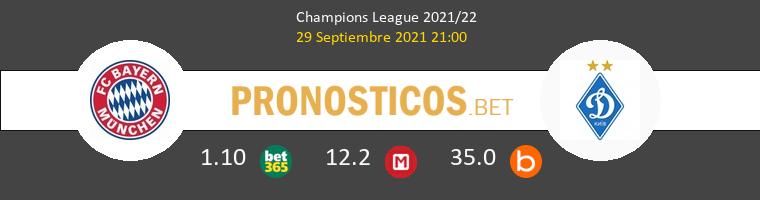 Bayern vs Dinamo Kiev Pronostico (29 Sep 2021) 1