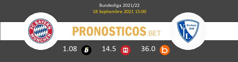 Bayern vs VfL Bochum Pronostico (18 Sep 2021) 1