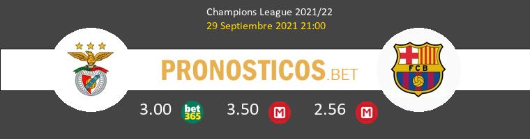 Benfica vs Barcelona Pronostico (29 Sep 2021) 1