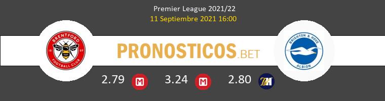 Brentford vs Brighton & Hove Albion Pronostico (11 Sep 2021) 1