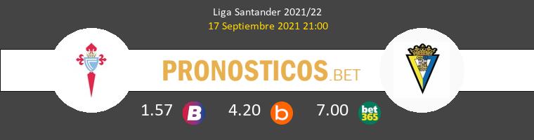 Celta vs Cádiz Pronostico (17 Sep 2021) 1