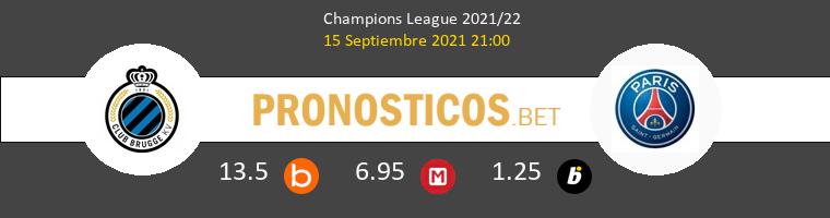 Club Brugge vs Paris Saint Germain Pronostico (15 Sep 2021) 1