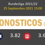 Eintracht Frankfurt vs Colonia Pronostico (25 Sep 2021) 5