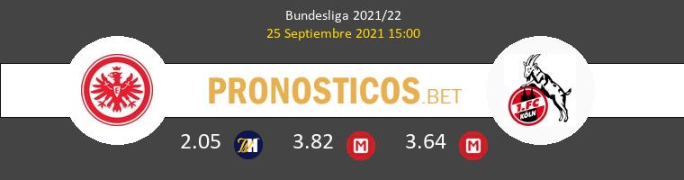 Eintracht Frankfurt vs Colonia Pronostico (25 Sep 2021) 1