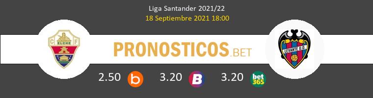Elche vs Levante Pronostico (18 Sep 2021) 1
