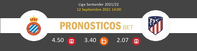 Espanyol vs Atlético Pronostico (12 Sep 2021) 1