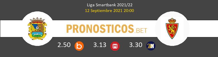 Fuenlabrada vs Zaragoza Pronostico (12 Sep 2021) 1