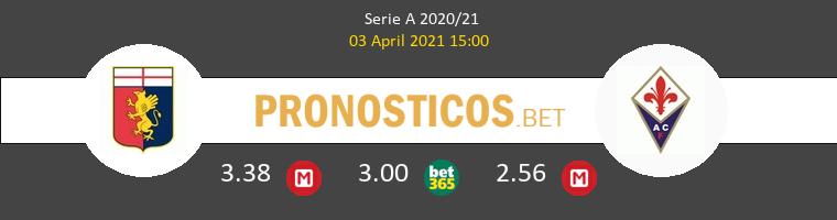 Genova vs Fiorentina Pronostico (18 Sep 2021) 1