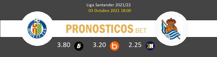 Getafe vs Real Sociedad Pronostico (3 Oct 2021) 1