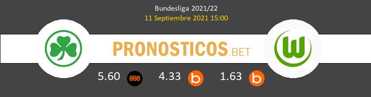 Greuther Fürth vs Wolfsburg Pronostico (11 Sep 2021) 1
