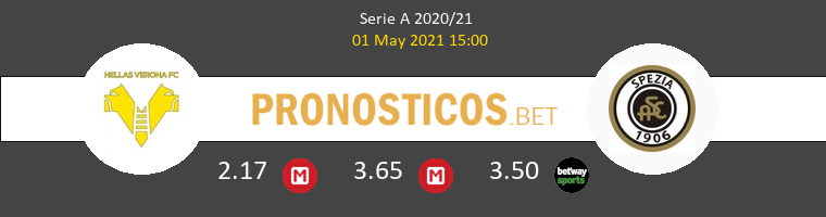 Hellas Verona vs Spezia Pronostico (3 Oct 2021) 1