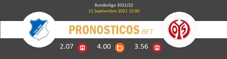 Hoffenheim vs Mainz 05 Pronostico (11 Sep 2021) 1