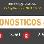Hoffenheim vs Wolfsburgo Pronostico (25 Sep 2021) 7