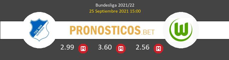 Hoffenheim vs Wolfsburgo Pronostico (25 Sep 2021) 1