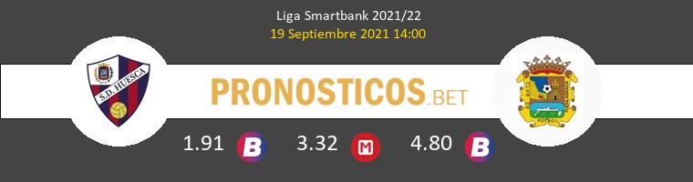 Huesca vs Fuenlabrada Pronostico (19 Sep 2021) 1