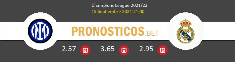 Inter vs Real Madrid Pronostico (15 Sep 2021) 1