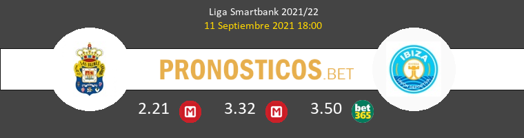 Las Palmas vs UD Ibiza Pronostico (11 Sep 2021) 1