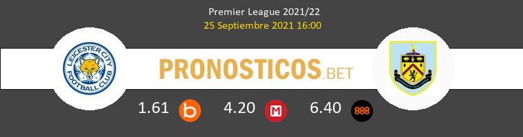 Leicester vs Burnley Pronostico (25 Sep 2021) 1
