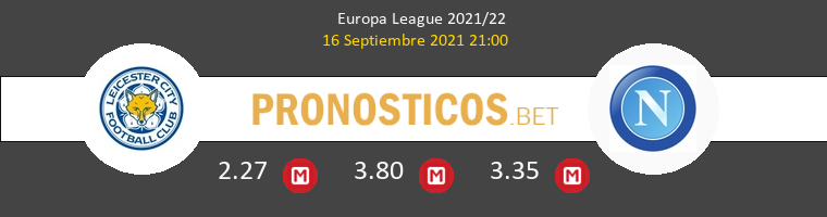 Leicester vs Napoles Pronostico (16 Sep 2021) 1