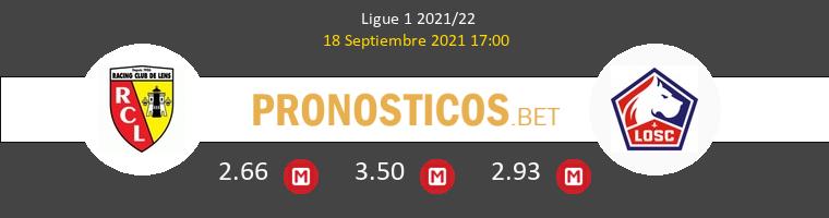 Lens vs Lille Pronostico (18 Sep 2021) 1