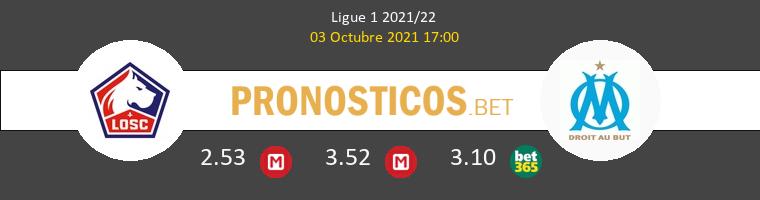 Lille vs Olympique Marsella Pronostico (3 Oct 2021) 1