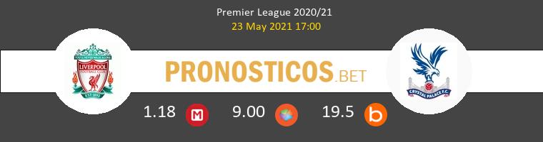 Liverpool vs Crystal Palace Pronostico (18 Sep 2021) 1
