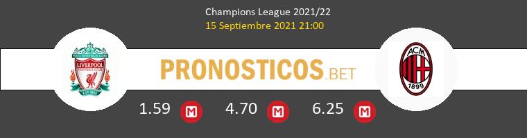 Liverpool vs AC Milan Pronostico (15 Sep 2021) 1