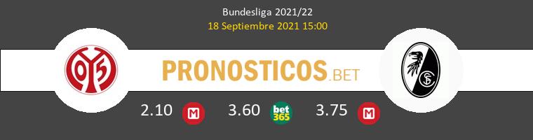 Mainz 05 vs SC Freiburg Pronostico (18 Sep 2021) 1