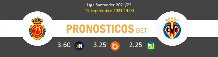 Mallorca vs Villarreal Pronostico (19 Sep 2021) 1