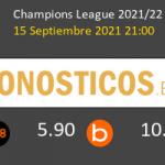 Manchester City vs RB Leipzig Pronostico (15 Sep 2021) 3