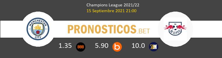 Manchester City vs RB Leipzig Pronostico (15 Sep 2021) 1