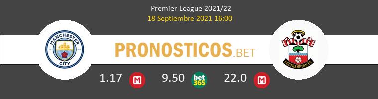 Manchester City vs Southampton Pronostico (18 Sep 2021) 1