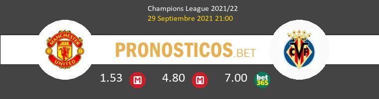 Manchester United vs Villarreal Pronostico (29 Sep 2021) 1