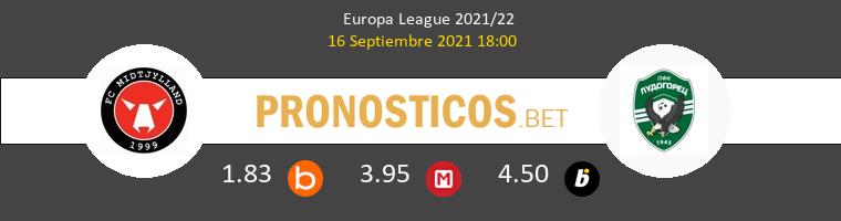 Midtjylland vs Ludogorets Pronostico (16 Sep 2021) 1