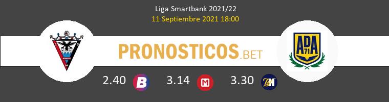 Mirandés vs Alcorcón Pronostico (11 Sep 2021) 1