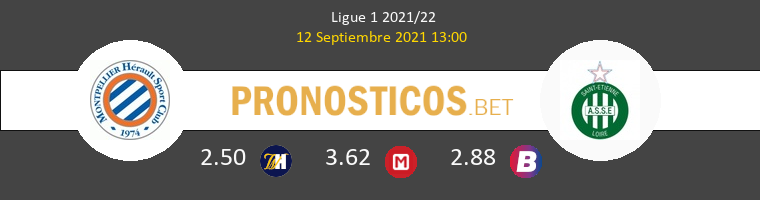 Montpellier vs SaintvÉtienne Pronostico (12 Sep 2021) 1
